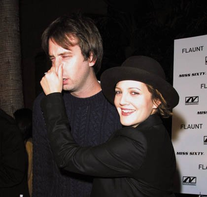 Drew Barrymore and Tom Green. Drew Barrymore stayed true to her wild-child