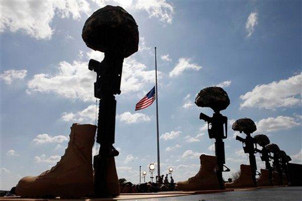 soldiers cross pics