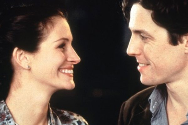 Hugh Grant's charming dittering and Julia Roberts' awkward attempts at ...
