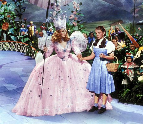 Billie Burke in  The Wizard of Oz    Bewitching Beauties   Comcast net    Good Witch Of The North