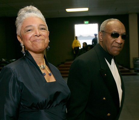 Bill cosby with his wife camille
