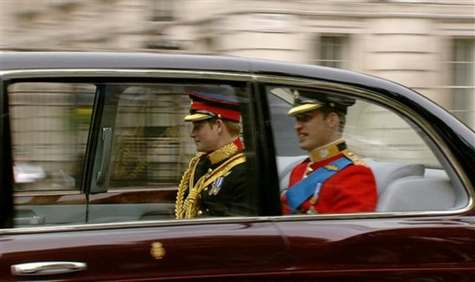 prince harry and william painting. prince harry and william