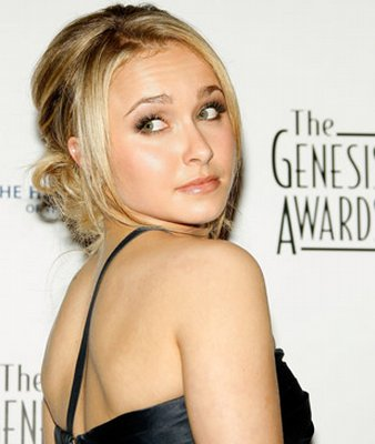 hayden panettiere maxim. Actress Hayden Panettiere poses backstage at the 22nd Annual Genesis Awards