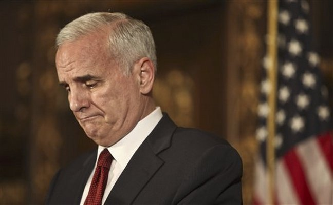 governor mark dayton. Gov. Mark Dayton addressed the