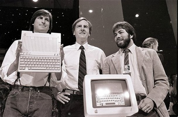 Jobs, Markkula, Wozniak
