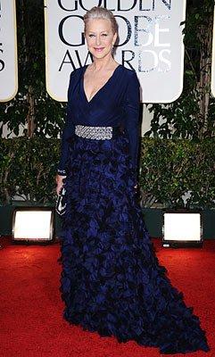 3. Хелен Миррен в платье Badgley Mischka.
