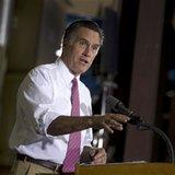 ... presidential candidate, former Massachusetts Gov. Mitt Romney ges