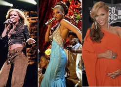 Beyonce Through the Years