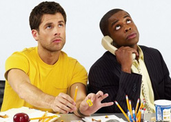 Dule Hill & James Roday Get 'Psych'-ed