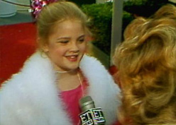 8 Year Old Drew Barrymore