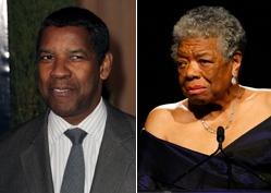 Washington, Angelou Among 'Most Trusted'