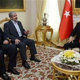 Turkey's Erdogan meets top Hamas officials