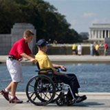 news-national-20131001-Veterans.pass.barriers.close.WWII.Memorial