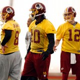 'Skins to start Cousins, RG3 is No. 3 QB