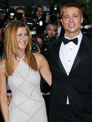 Jennifer Aniston Wedding Dress Brad Pitt