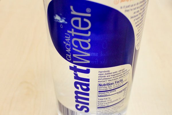 Smart Water Bottles Smart Water Bottle Label