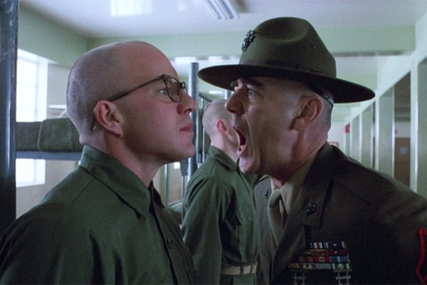 R Lee Ermey Yelling Andrew's Two Cents