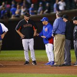 Giants win protest, game to resume