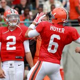 Browns name Hoyer starter over Manziel