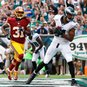 Eagles top Redskins 37-34 in testy game