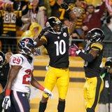 Steelers score 3 TDs in 1:13, top Texans