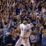 Royals rally past A's in 12, Angels next