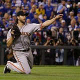 Giants lead Royals 5-0 after 6 innings