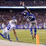 Cowboys rally to upstage Beckham's catch