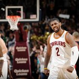 Irving has 55, James-less Cavs win again