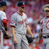 Strasburg put on DL with stiff neck