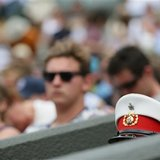 The Latest: Wimbledon pauses for victims of 2005 bombings