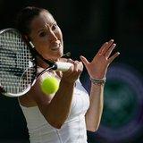 The Latest: Jankovic stuns Petra Kvitova at Wimbledon