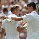 Novak Djokovic keeps cool on Wimbledon's hottest day