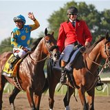 What's going on with American Pharoah after Haskell win