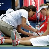 Latest on US Open: 'Scared' Makarova clinches victory