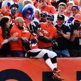 The Latest: Hillman 72-yd TD among longest runs for Broncos