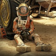 "In Theaters Now: ""The Martian"""