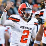 Browns didn't discuss cutting Johnny Manziel before benching