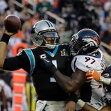 QB Newton struggles in 1st Super Bowl, Panthers lose 24-10