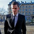 Sunderland winger Adam Johnson arrives at Bradford Crown Court, England, Wednesday Feb. 10, 2016. Johnson has pleaded guilty in court to one count of sexual activity with a child and another of grooming. The 28-year-old Johnson, who has made 12 appearances for England, denies two charges of sexual activity with a girl under the age of 16. (Peter Byrne/PA via AP) UNITED KINGDOM OUT