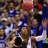 No. 6 Kansas beats No. 10 West Virginia, 75-65