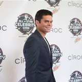The Latest: Tennis star Milos Raonic dunks in celebrity game