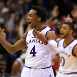 No. 6 Kansas beats No. 10 West Virginia, 75-65