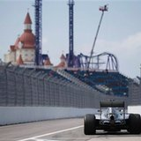 Hamilton tops 2nd practice in Russia as Vettel's car stops