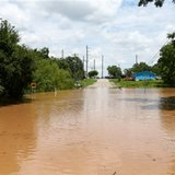 Residents brace for more flooding as Texas river crests