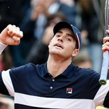 The Latest: Isner's 40 aces let him reach 2nd round in Paris