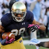 Concussions end career of Notre Dame WR Corey Robinson