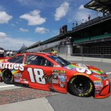 Kyle Busch moves to top of pack in Brickyard 400 practice