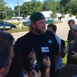 Mum's the word on Fitzpatrick as Jets report for camp