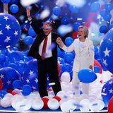 Promoting national unity, Clinton also seeks to build trust